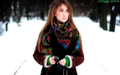 Как носить дубленку с шарфом? Фото идеи и стильные образы
