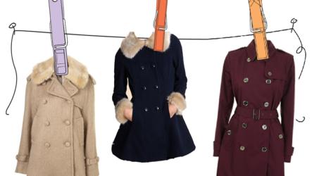 Как постирать и почистить пальто в домашних условиях?