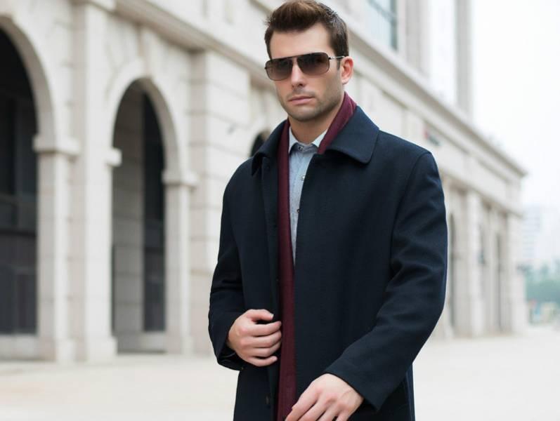 Кашемировое мужское пальто