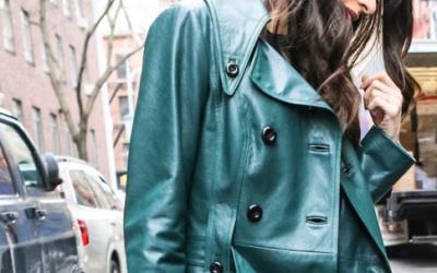 Женское кожаное пальто: секреты выбора и ухода