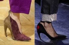 Модная обувь осень-зима 2018-2019: фото, тренды, новинки сезона