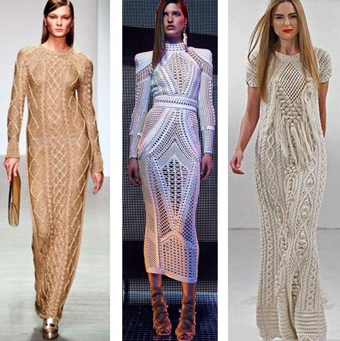 8e761350abd Модные вязаные платья 2019-2020  модели