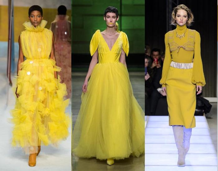 Модные новогодние платья