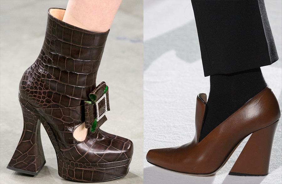 Модная женская обувь осень-зима 2018-2019