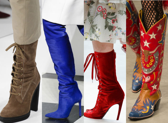 Модные сапоги осень-зима 2018-2019  фото, модели, тренды, новинки 5e9bce6bc89