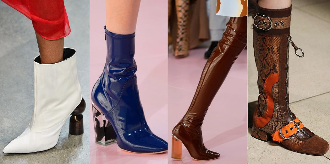 Модная обувь осень-зима 2018-2019  фото, новинки 4283b0b6202