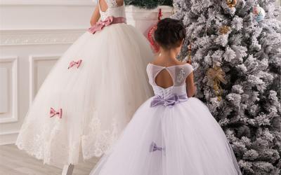 Новогодние платья для девочек 2019-2020