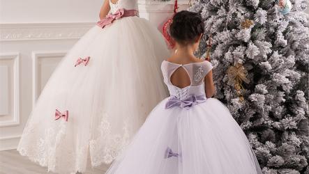 Новогодние платья для девочек 2020-2021