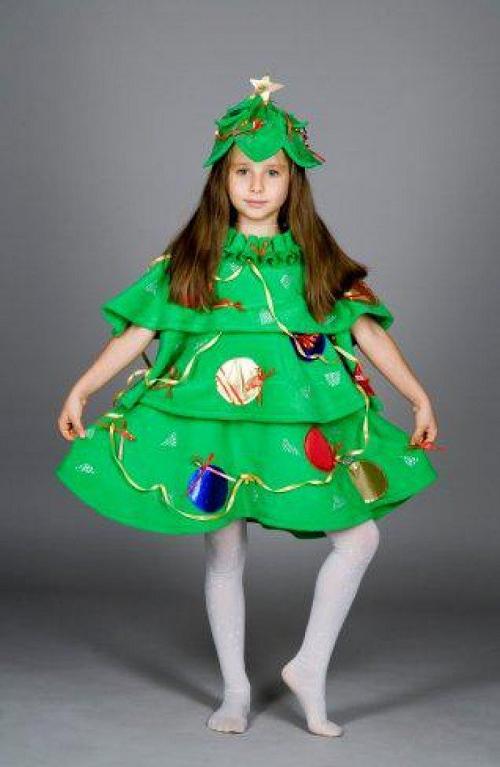 Новогодний костюм елочки