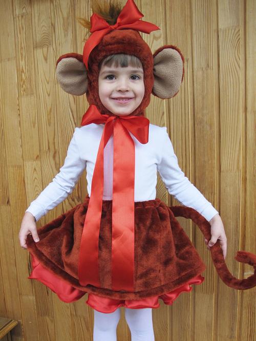 Новогодний костюм обезьянки своими руками