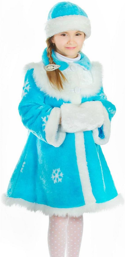 Новогодний костюм снегурочка своими руками