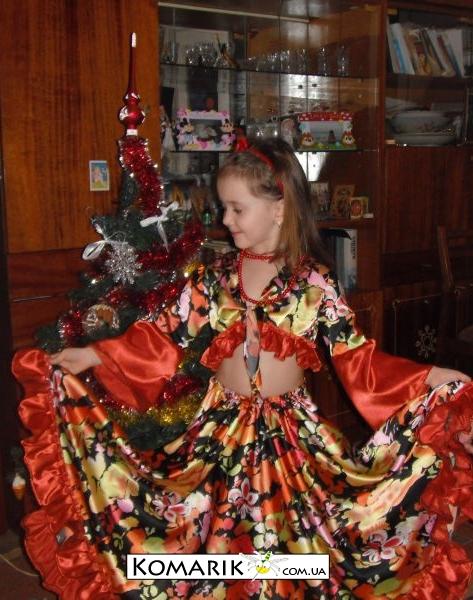 Новогодний костюм цыганки своими руками