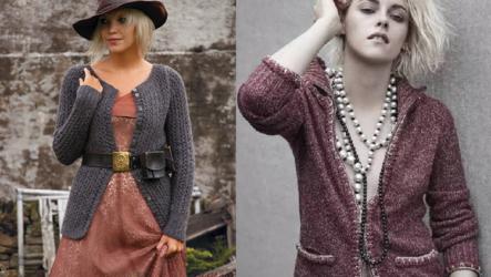 С чем носить кардиган женщине и какую модель выбрать?