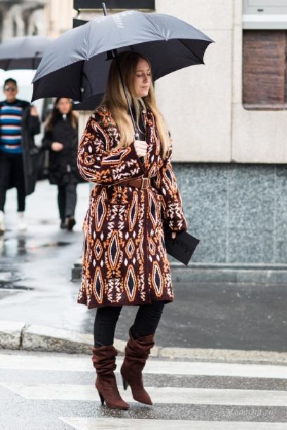 С чем носить сапоги зимой 2019 фото