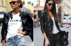 ЖЕНСКАЯ КОЖАНАЯ КУРТКА 2018: модные модели. Варианты с чем носить
