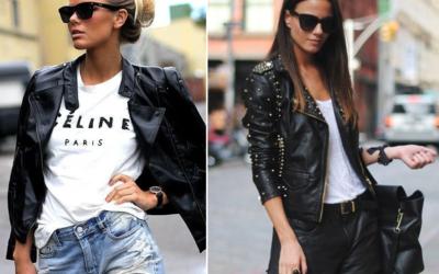 ЖЕНСКАЯ КОЖАНАЯ КУРТКА 2019: модные модели. Варианты с чем носить