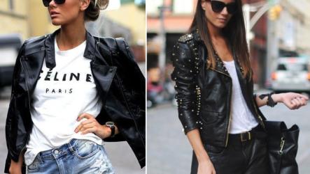 ЖЕНСКАЯ КОЖАНАЯ КУРТКА 2020: модные модели. Варианты с чем носить