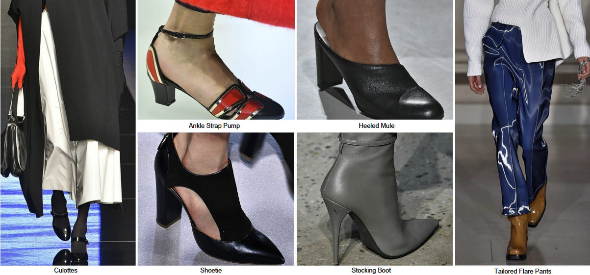 Модная обувь осень зима 2018-2019 фото женская