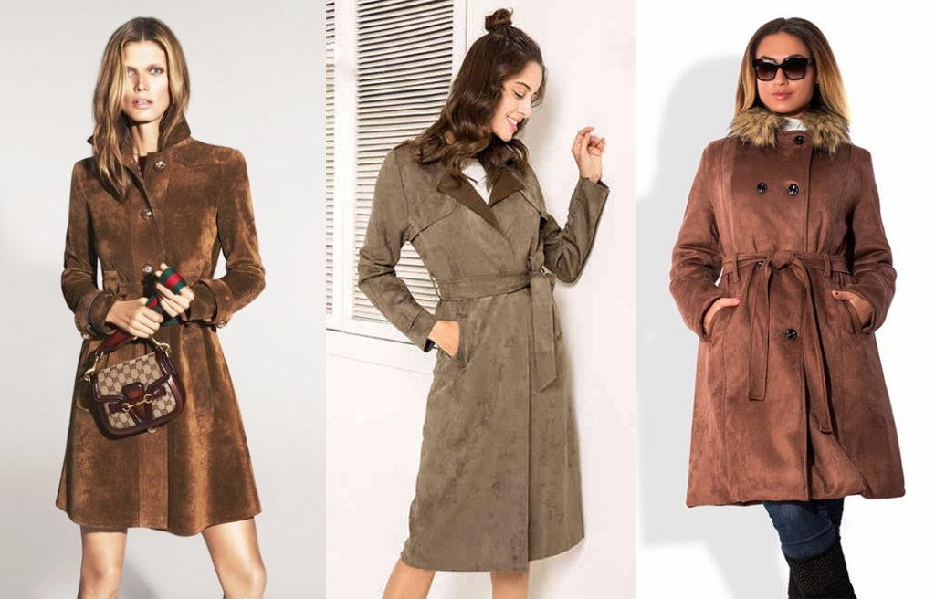 Замшевое пальто 2019