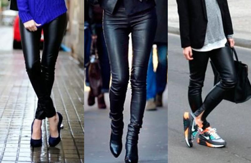 Обувь к кожаным штанам