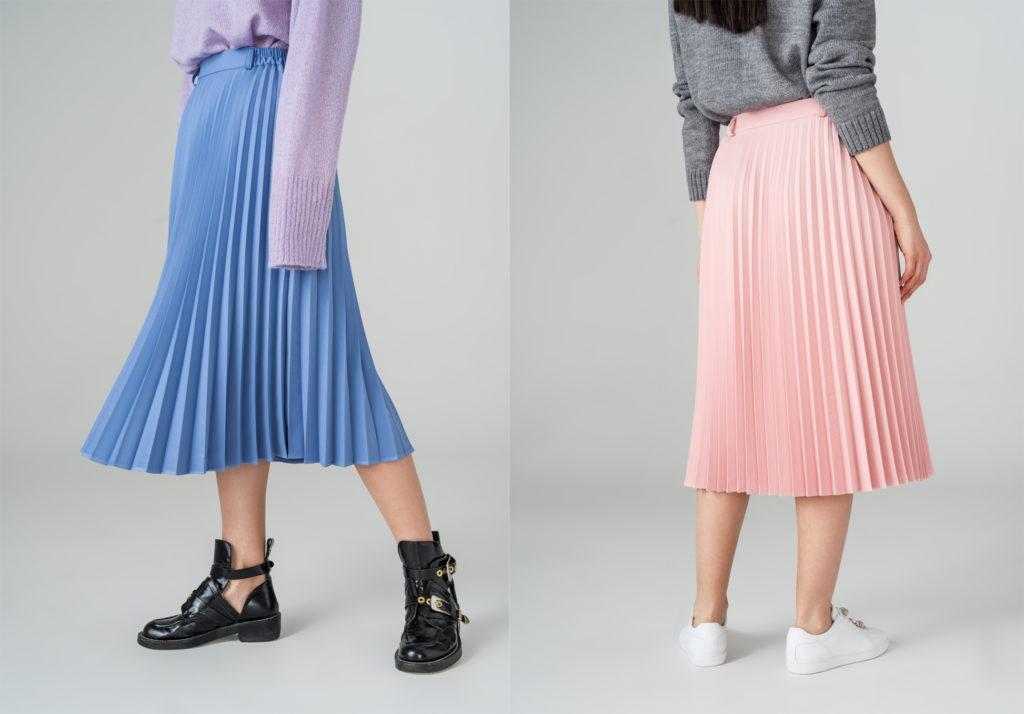Гофрированные юбки 2018