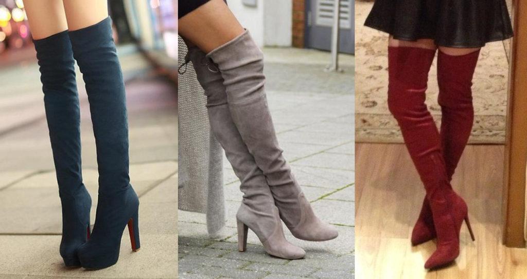 Модные сапоги-чулки