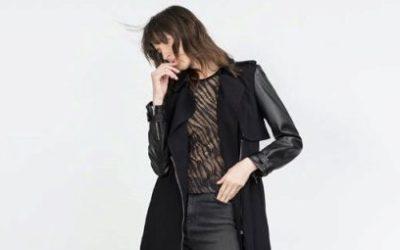 Женское пальто с кожаными рукавами: преимущества и недостатки модели