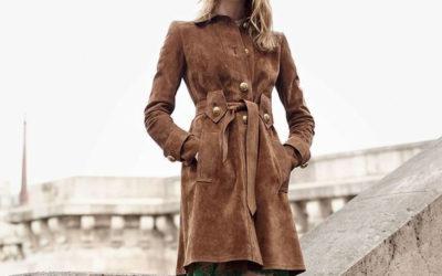 Замшевое пальто: фото, модные модели 2019 года