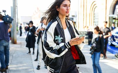 Женские куртки-бомберы 2019