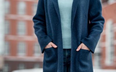 Модные пальто из вареной шерсти: модели 2018-2019