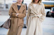 Пальто-халат: модные тренды 2020-2021