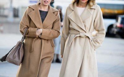 Пальто-халат: модные тренды 2018-2019