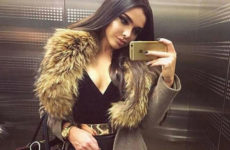 Пальто с меховым воротником или как стать королевой