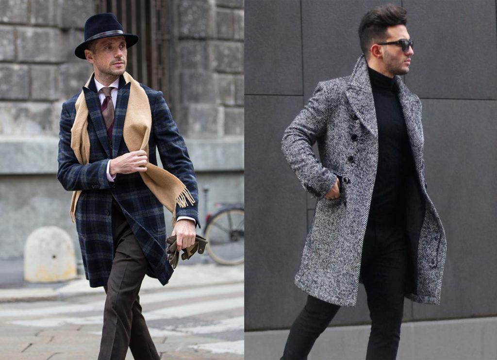Мужское драповое пальто 2019