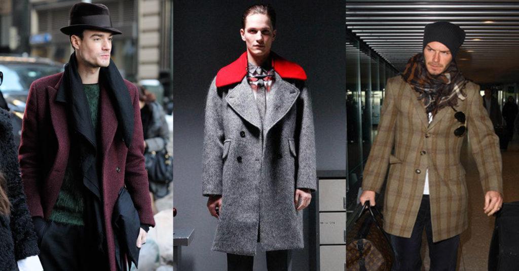 Мужские пальто реетро