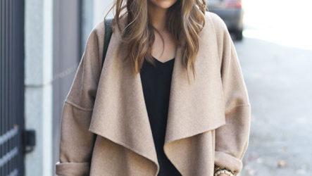 С чем носить пальто из верблюжьей шерсти