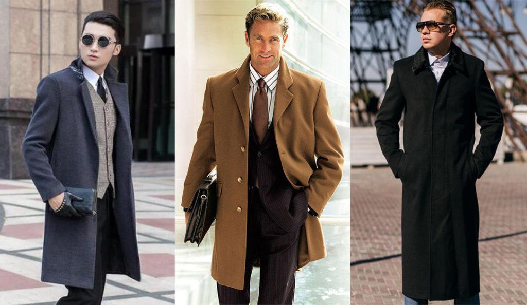 Классическое мужское пальто 2018