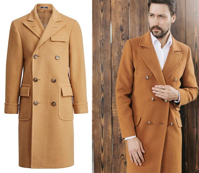 Мужское пальто-поло