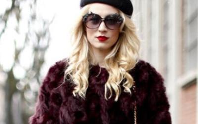 Какой берет носить зимой с шубой?