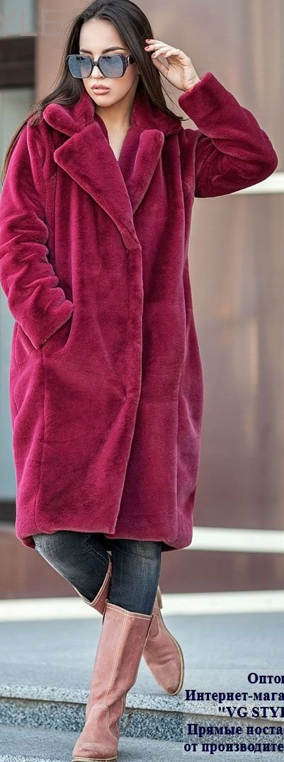 Норковая шуба модель кокон фото