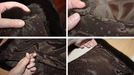 Как заменить подкладку шубы самостоятельно? Пошаговый МК с видео