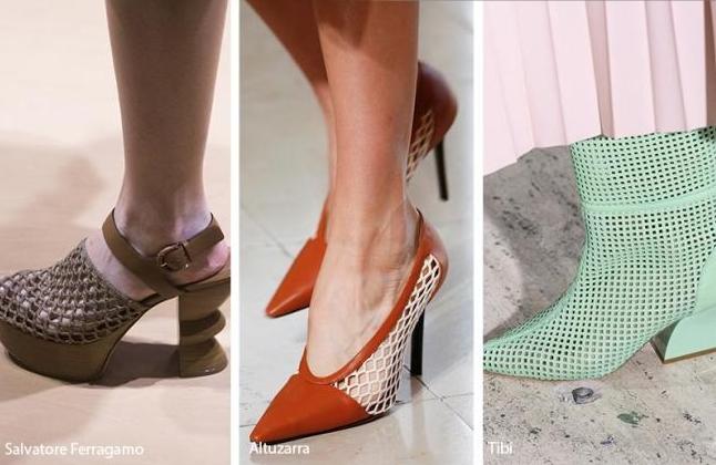 Модный цвет туфлей 2019 года