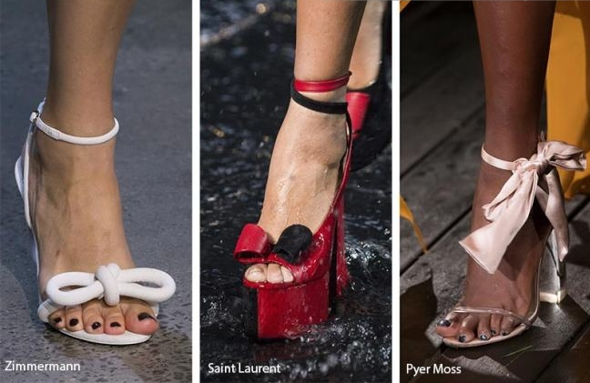 Модный цвет туфлей 2019