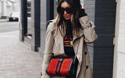 Модный тренд 2019: пальто с джинсами и кроссовками