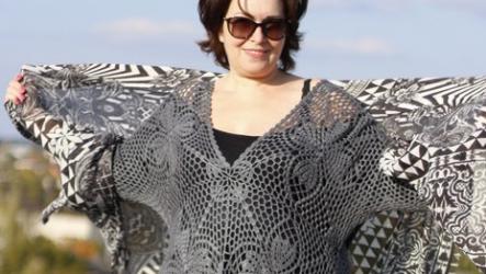 Мода для полных женщин осень-зима 2020-2021