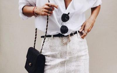 15 стильных образов с рубашкой