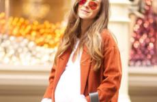 Пальто для беременных: модели 2019-2020