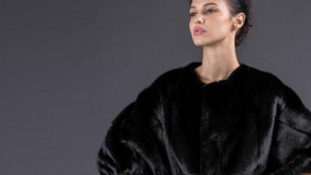 Норковая шуба кимоно: особенности кроя