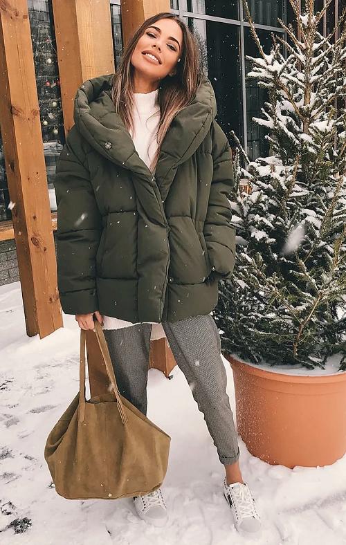 Что теплее пальто или пуховик