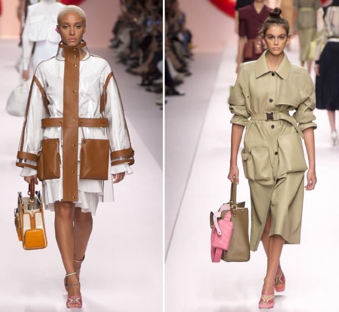 модные модели плащей очень весна 2020